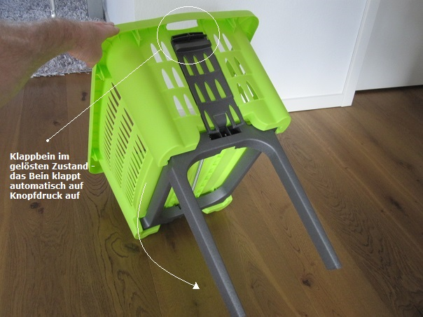 Wäschekörbe mit Beinen Tipps zum Kauf, Empfehlungen und Angebote Wäschekorb kaufen de ~ 01012028_Bauhaus Wäschekorb Mit Beinen